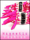 Magnetic Jewelry Necklace Belt Bracelet Collection